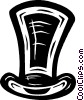 Vector Clipart illustration  of a top hat