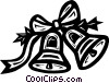 Christmas bells Vector Clipart picture