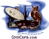 Vector Clip Art image  of an Arizona