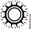 sun Vector Clip Art image
