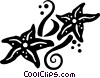 Vector Clipart picture  of a star fish