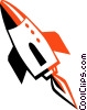 space shuttle Vector Clip Art graphic