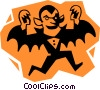 Vector Clipart graphic  of a Count Dracula