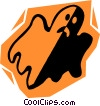ghosts Vector Clip Art image