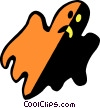 Vector Clip Art picture  of a ghosts