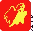 ghosts Vector Clip Art graphic