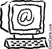 personal computers Vector Clipart image