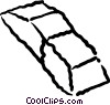 Vector Clipart graphic  of a eraser