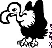 vulture Vector Clipart picture