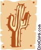 Vector Clipart illustration  of a cactus