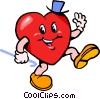 Vector Clipart graphic  of a Valentines day heart