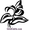 Vector Clip Art image  of a hyssop