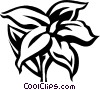 Vector Clipart picture  of a jasmine