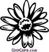 daisy Vector Clip Art graphic