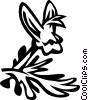Dutchman's breeches Vector Clip Art image