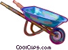 Wheelbarrow Vector Clipart picture