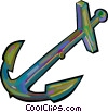 anchor Vector Clipart illustration