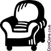 Vector Clipart picture  of a chair