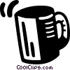 coffee mug Vector Clipart picture