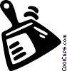 dustpan Vector Clipart picture