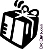 gift Vector Clip Art graphic