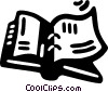 Vector Clip Art graphic  of a notebook
