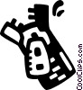 Vector Clip Art graphic  of a zipper