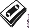Vector Clipart picture  of a cassette tape