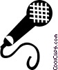 microphone Vector Clip Art image