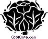 cabbage Vector Clip Art image