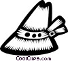 Vector Clipart image  of a Switzerland hat