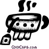Vector Clipart graphic  of a teacup