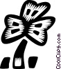 Vector Clipart graphic  of a clover