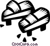 Japanese clogs Vector Clipart picture