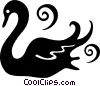 swan Vector Clipart picture