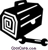 toolbox Vector Clipart graphic