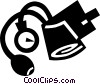 blood pressure gauge Vector Clip Art picture