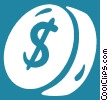 dollar sign Vector Clipart image