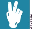 Vector Clipart illustration  of a hands