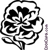 Vector Clip Art graphic  of a Primrose
