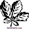 Vector Clipart graphic  of a ginseng