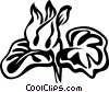 Vector Clipart illustration  of a cyclamen