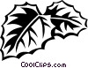 cissus Vector Clipart illustration