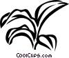Vector Clip Art image  of a zebrine