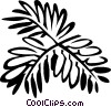 mimosa Vector Clipart picture