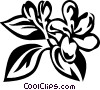 honeysuckle Vector Clipart graphic
