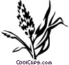 Vector Clipart illustration  of a marsh grass