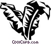giant palm Vector Clipart image