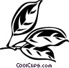 Vector Clip Art graphic  of a camphor
