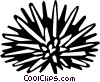 sea urchin Vector Clipart picture